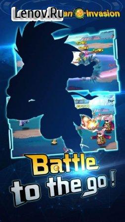 Скачать взломанную Saiyan Invasion: Warriors Duel v 2.0.2 Мод (Vip 16)