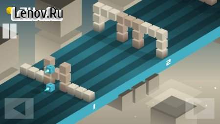 CUBY ROAD - an endless runner. Almost endless. v 1.0 Мод (Unlimited Gold)