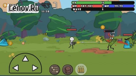 One Gun: Stickman v 1.91 Мод (Unlimited Gold)