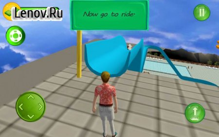 Aqua Waterslide Rush Racing v 2.6 (Mod Money)