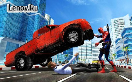 Spider Pool Hero: Blend of 2 Mutant Superheroes v 1.10 Мод (Unlocked)