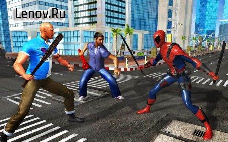 Spider Pool Hero: Blend of 2 Mutant Superheroes v 1.10 Мод (Unlocked)