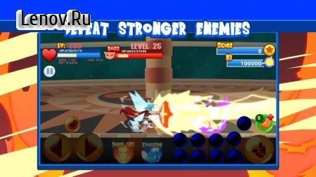 God Dragon Fighter Z: Ultra Instinct Super Saiyan (обновлено v 1.4.32) Мод (Unlimited kis/beans/power)