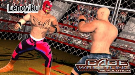 WRESTLING CAGE REVOLUTION : WRESTLING GAMES 2K18 v 1.4 (Mod Money)