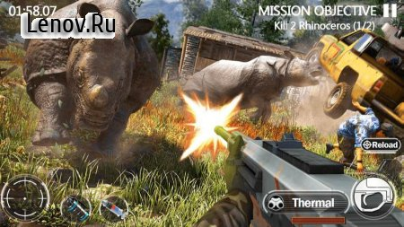 Animal Hunting: Forest Shooter (обновлено v 9.1) Мод (Unlimited Golds/Silvers/Energy/Auto Shoot & More)