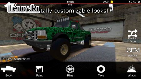 Offroad Outlaws v 4.8.1 (Mod Money/Free Shopping)