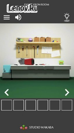Room Escape Game : Robotics Institute v 1.0.6 Мод (Unconditional tips)