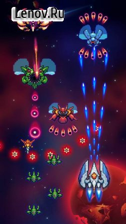 Space War Alien Shooting v 4.4 (Mod Money)
