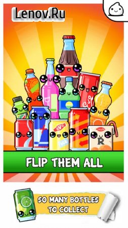 Bottle Flip Evolution - 2k18 Idle Clicker Game v 1.0 (Mod Money)