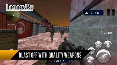 Commando Survival Wars 3D v 1.02 Мод (Unlocked)