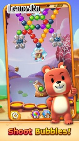 Buggle 2 - Bubble Shooter v 1.4.7 Мод (Unlimited lives/Boosters/Moves)