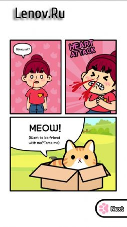 Taming a stray cat (обновлено v 1.2.2) (Mod Money)