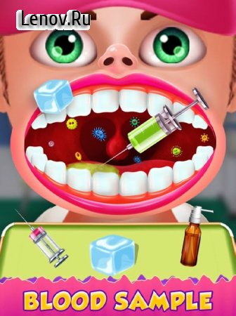 Blood Test Injection Simulator Doctor v 1.0 Мод (Unlock All Level)