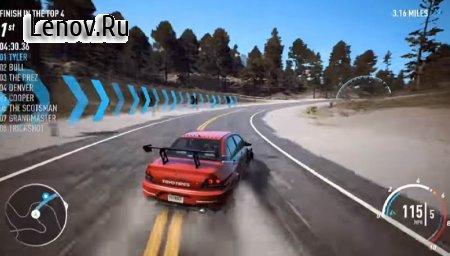 Hint Need For Speed payback v 1.0 Мод (много денег)