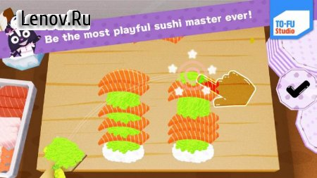 TO-FU Oh!SUSHI v 1.8 Мод (Unlocked)