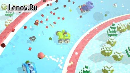 Blocky Racing (обновлено v 1.0) (Mod Money)
