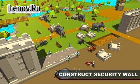 Security Walls Construction v 1.0 Мод (Unlock All Level)