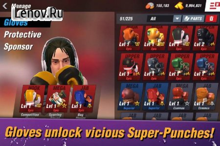 Boxing Star v 1.4.5 Мод (много денег)