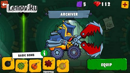Car Eats Car 3 - Evil Cars v 1.5 (Mod Money)