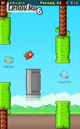 Flapping Online v 4.1 Мод (COINS & EASY FLY THROUGH)