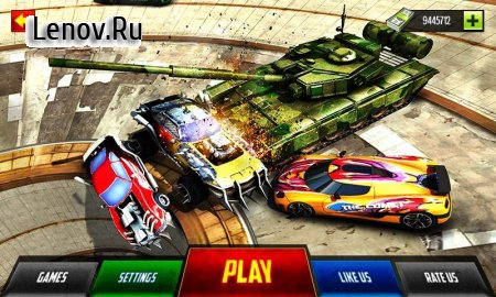 Whirlpool Demolition Derby Tank War Hero v 1.0 (Mod Money)