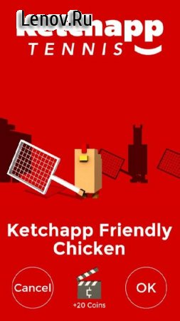 Ketchapp Tennis v 1.0 (Mod Money)
