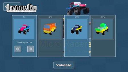 Micro Racers - Mini Car Racing Game v 3.1 Мод (Ads-free)