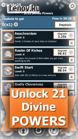 Idle Universe v 1.262 Мод (Free Shopping)
