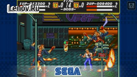 Streets of Rage Classic v 2.0.2 Мод (Unlocked)