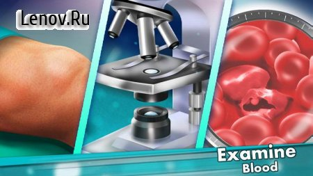 Hospital Manager - Doctor & Surgery Game v 1.3 Мод (Infinite Cash/Hearts/Coffee/Energy Drinks)