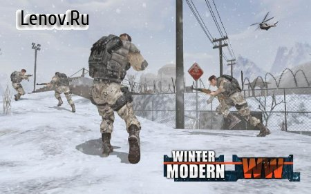 Rules of Modern World War Winter FPS Shooting Game v 3.2.0 Мод (Free Shopping)