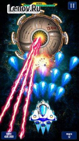 Space Shooter: GalaxyAttack v 1.413 Mod (Infinite Diamonds/Cards/Medal)