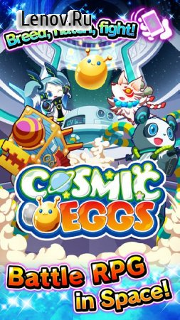 Cosmic Eggs - Battle Adventure RPG In Space! v 1.1.1 Mod (One hit/God mode)