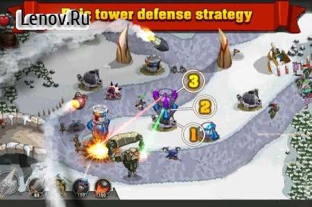 King Of Defense: Battle Frontier v 1.5.9 Mod (Infinite Gems/Crystals/Golds/Stars)
