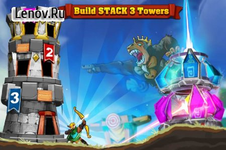 King Of Defense: Battle Frontier v 1.2.8 Мод (Infinite Gems/Crystals/Golds/Stars)