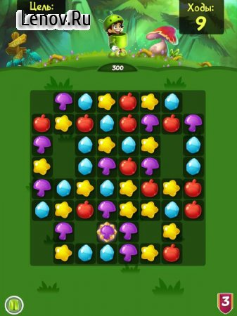 Sir Match-a-Lot: Match 3 Game v 1.26.0 Мод (Plus 100 Moves/Infinite Lives /Gold/Boosters)