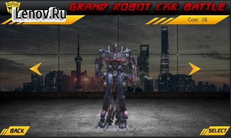 Grand Robot Car Battle v 1.3