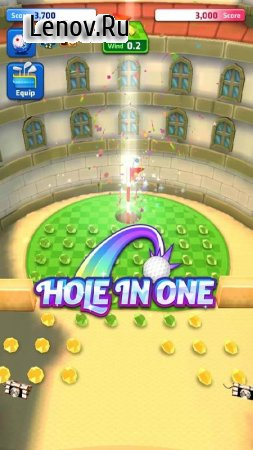 Mini Golf King Multiplayer Game v 3.15 Мод (Unlimited Guideline/No Wind)