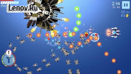 Galaxy Spiral Shooter v 2.1.2 Мод (Free Shopping)