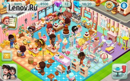 Bakery Story 2 v 1.6.1 (Mod Money)
