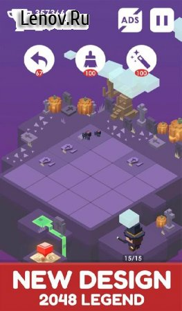 Journey of 2048 (обновлено v 1.3.1) Мод (Free Shopping)