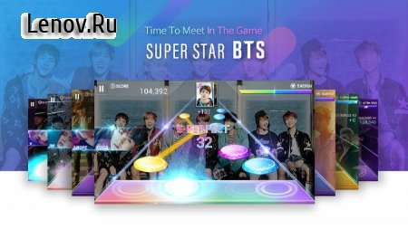 SuperStar BTS v 1.7.2 Мод (Auto Super Perfect)
