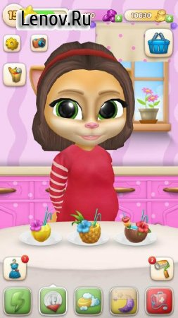 Pregnant Talking Cat Emma v 1.9.9 (Mod Money)