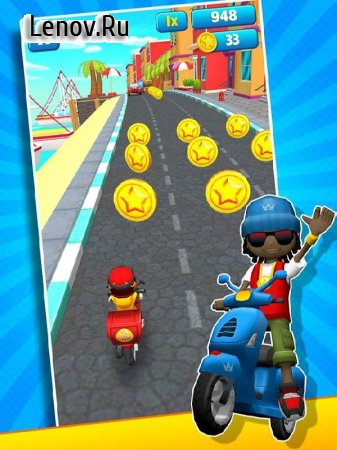 Subway Scooters v 4.1.5 (Mod Money)