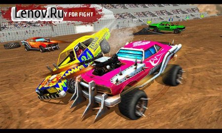 Demolition Derby Real Car Wars v 1.2 (Mod Money)