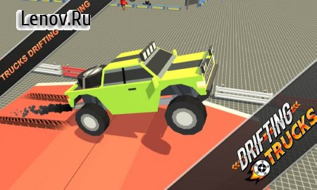 Drifting Trucks : Rally Racing v 1.4 (Mod Money)