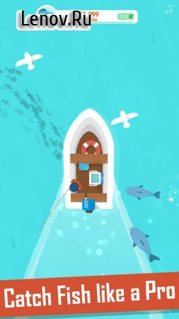Hooked Inc: Fisher Tycoon v 1.6.4 (Mod Money)