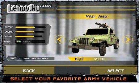 Army War Truck Driver Sim 3D v 1.0.3 Мод (Unlocked)