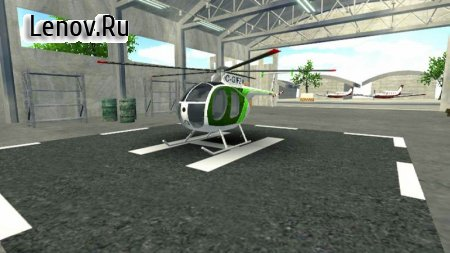 Police Helicopter Simulator v 1.51 Мод (Free Shopping)