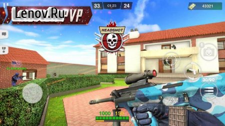 Critical Battle Strike: Online FPS Arena Shooter v 1.76 (Mod Money)